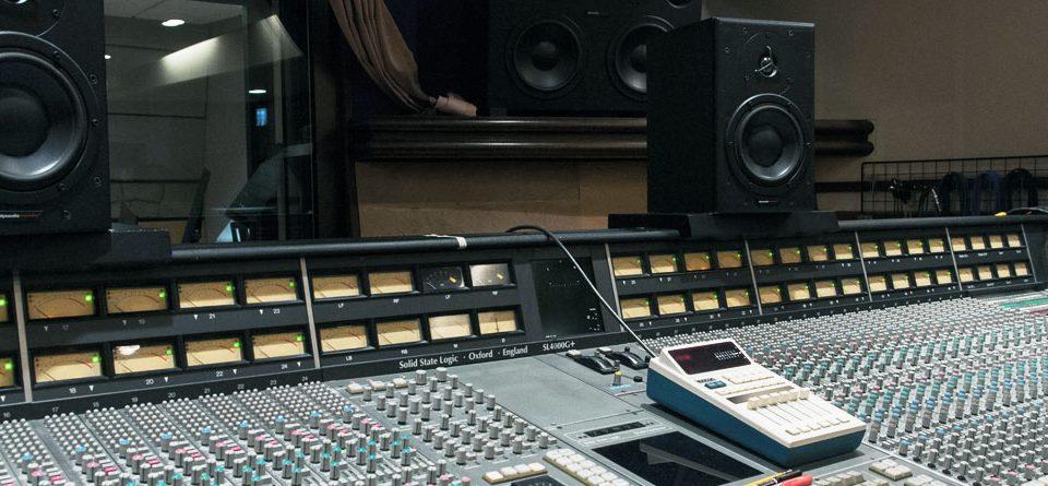 استودیو حرفه ای ضبط صدا